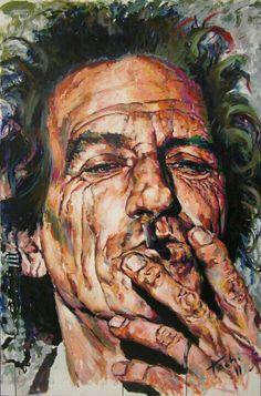 The everlasting Keith Richards!!