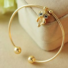 Gold Owl Bracelet | $6.50