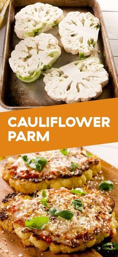 Cauliflower Parmesan Cauliflower Parmesan Is Vegetarian Comfort Fo. - Cauliflower Parmesan Cauliflower Parmesan Is Vegetarian Comfort Food At Its FinestDel - Diet Recipes, Cooking Recipes, Recipies, Keto Veggie Recipes, Low Calorie Vegetarian Recipes, Recipes For Vegetarians, Health Food Recipes, Vegetarian Christmas Recipes, Vegetarian Italian Recipes