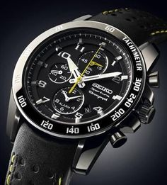 Seiko Delivers Ananta Automatic Chronograph Diver's Watch and the Sportura Alarm Chronograph Watches Channel Sport Watches, Cool Watches, Watches For Men, Wrist Watches, Seiko Sportura, Mens Essentials, Seiko Watches, Luxury Watches, Chronograph