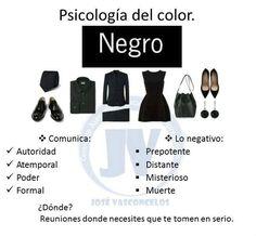 Psicología del color: negro