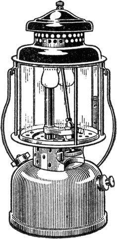 Vintage Camping Lantern