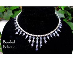 Items similar to Crystal Choker with Silver Ball Accents. Perfect for Party Dresses or Wedding Day. Crystal Necklace and Silver Beads on Etsy Crystal Choker, Clear Crystal, Beaded Jewelry, Beaded Necklace, Jewellery, Day Collar, All Things Purple, Material Girls, Stone Pendants