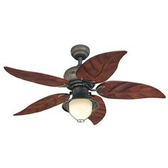 "Westinghouse Lighting 48"" Oasis 5 Reversible Blade Ceiling Fan"