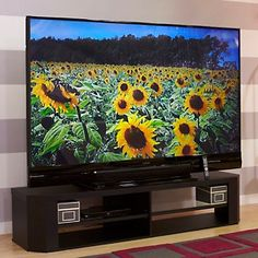 "Mitsubishi 92"" Home Cinema 3D 1080p DLP HDTV with Stand at HSN.com."