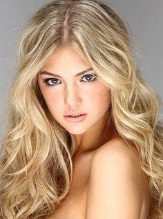 natural blonde hair cute for when I'm sick of platnium