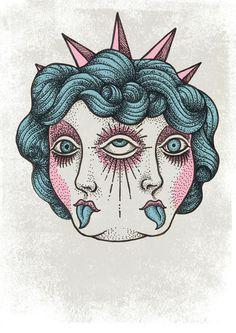 59 Best ideas for eye third illustration Art Drawings Sketches, Tattoo Drawings, Indie Drawings, Mädchen Tattoo, 3rd Eye Tattoo, Tongue Tattoo, Third Eye Tattoos, Arte Peculiar, Tattoo Flash Art