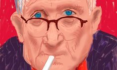David Hockney's iPad art among 700 of his works to show in Melbourne http://lnk.al/lhV