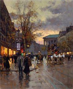 Boulevard de la Madeleine - Edouard Cortes