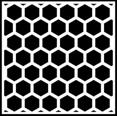 Free Hexagon Backgrounds in various styles #Silhouette #Cricut #CutFile