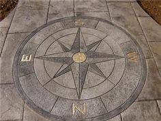 patio compass rose - Google Search