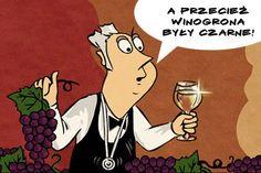 Kolor winogron = kolor wina?
