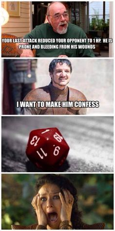 "Hilarious D&D Memes For The Dungeon Freaks - Funny memes that ""GET IT"" and want you to too. Get the latest funniest memes and keep up what is going on in the meme-o-sphere. Got Memes, Funny Memes, Hilarious, Jokes, Game Of Thrones Meme, Game Of Thrones Oberyn, Game Of Throne Lustig, Dnd Funny, Game Of Thones"
