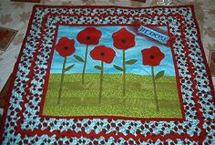 this art quilt would be perfect in the kitchen! by pioneer9 on craftster