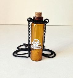 Poison Bottle Necklace Apothecary Vial Antique by DustyRemnants, $18.00