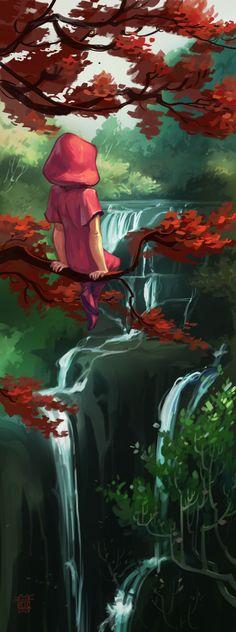 Red-leaves by ~DawnElaineDarkwood on deviantART