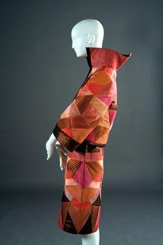 Roberto Capucci, dress in silk taffeta, 2009, courtesy Capucci Foundation. Photo Alessandro Sclauzero