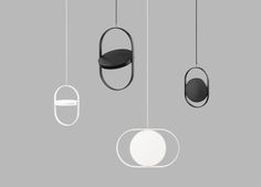 KUU - reversible pendant light - Elina Ulvio