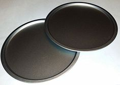 Italian Cooking Concepts TWO 12 inch Pizza Pans for baking Pizzas cookies or Biscuits ** Details can be found by clicking on the image.(It is Amazon affiliate link) #followforfollow