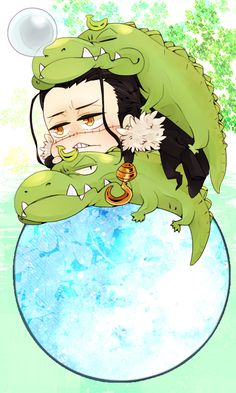 Chibi Sir Crocodile. :3  One Piece