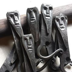 """Beer Dude"" Bottle Opener from The Helderberg Blacksmith for $26.50"