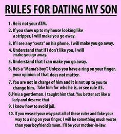 Warning from mom…