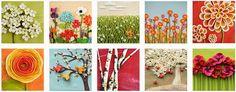 Spring scenes in pol