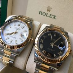 Gone but not forgotten!! The last of the Datejust II's! #DailyDuo