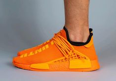 Pharrell x adidas NMD Hu Appears In Orange