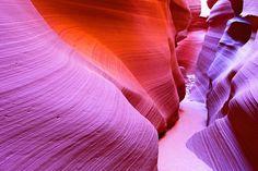 Cañón del Antílope, Arizona, en Estados Unidos.