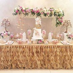 Thank heaven for little girls | Full #desserttable shot | #eventstyling #decor #racheljspecialevents | #gorgeous #cake @cakesbyarmine | #beautiful #cakepops @chocolate_favors_pops | #delicate #meringuetowers @karin_jingozian | #decoratedcookies @sugarspoonbakery | #eclairs #frechdesserts @anougesweetdesigns | #fabulous #flowers @cvalleyflowers | #love #baptism #baptismcake #dessert #candybar #sweets #girl #danity #bridalshowerideas #weddingcakeideas #pink #instacute #girly #christening…