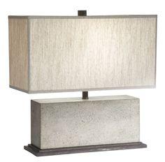 Mila Rectangular Table Lamp - Ethan Allen