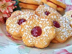 Greek Desserts, Greek Recipes, Biscuit Cookies, Cake Cookies, Baking Recipes, Cookie Recipes, Jam Tarts, Christmas Biscuits, Baking Business
