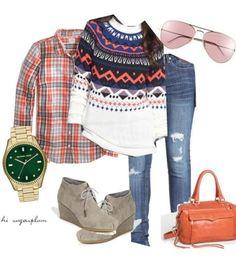 Hi Sugarplum | Cozy Fall outfit