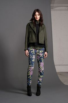 Military + Prints. Rag & Bone - Resort 2013