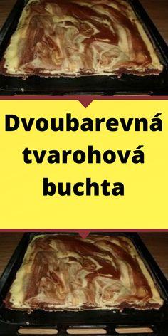 Dvoubarevná tvarohová buchta Nova, Beef, Kuchen, Meat, Steak