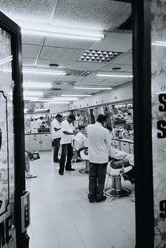 barber line up.