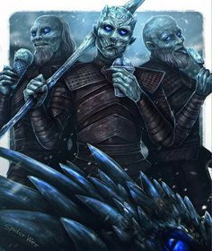 So that's how they survive north of the wall. Eating ice creams!
