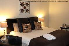 Beautiful accommodation at African Footprints Lodge. Bloemfontein African Footprints Lodge.