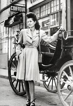 Fashion in France c. 1944