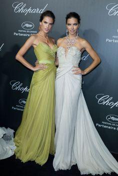 Alessandra Ambrosio y Adriana Lima