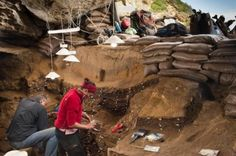 New findings from Blombos Cave show that Stone Age man in Africa exchanged technology to a large extent. The more contact between groups, the stronger technology developed. The exchange of tools can explain humans journey from Africa to Europe.Blombos Cave in South Africa gives vast knowledge of our early ancestors as early as 100,000 years ago.