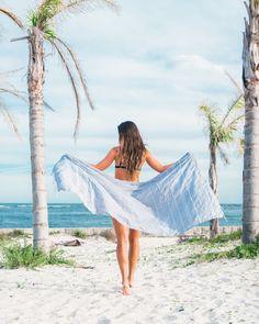 Light Gray Beach Towel from https://thebohemianshop.com