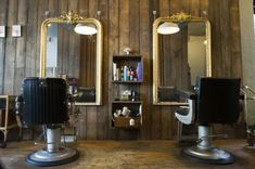 Hair Salon.......i like this look but i don't like the chairs so close