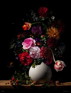 dutch flower paintings 17th century - Google Search