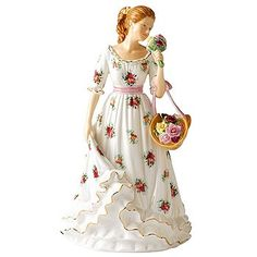 Royal Albert Old Country Roses Figurine 2011