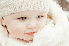 Winter baby photo