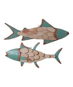 R Brandt Signed Hand Carved Fish 3 Wood On Stringer Pinterest And Woods