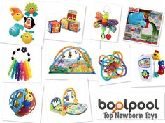 Here are Top 10 Newborn Toys with side by side comparison. Also included is the Newborn Toys Buying Guide that describes the following features to consider when making a buying decision:    1. Safety  2. Recommended Age  3. Improving Skills  4. Check for Recalls