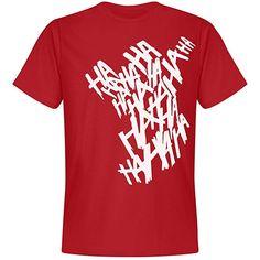 Joker Hahaha Tattoo: Unisex Next Level Premium T-Shirt Joker And Harley Quinn, Piece Of Clothing, Branded T Shirts, Fashion Brands, Unisex, Tattoo, Mens Tops, Stuff To Buy, Clothes